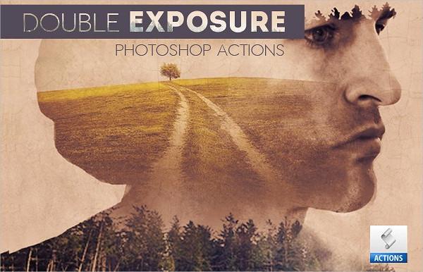 Multiple Double Expousure Photoshop Action