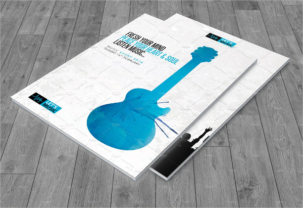 Music Festival Brochure Template