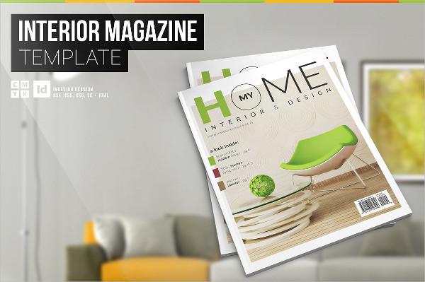 My Home – Interior InDesign Magazine Template
