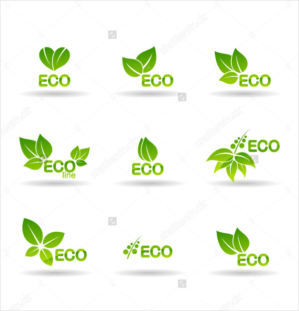 Nature Ecology Icons Vector