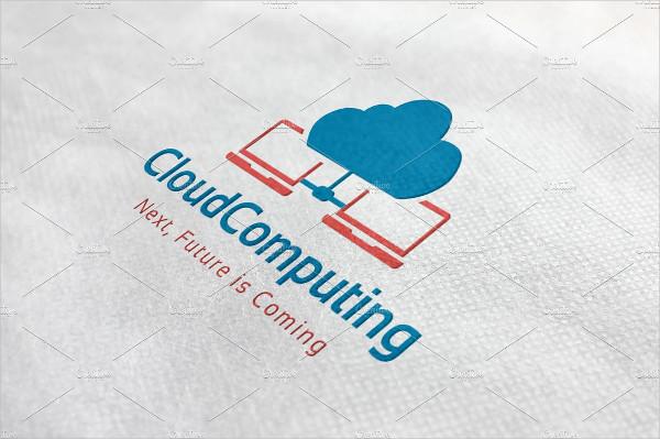 Perfect Cloud Computing Logo Template