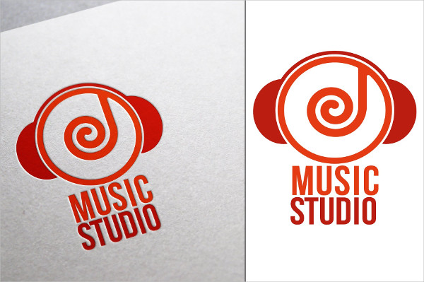 Unique Music Logo Template