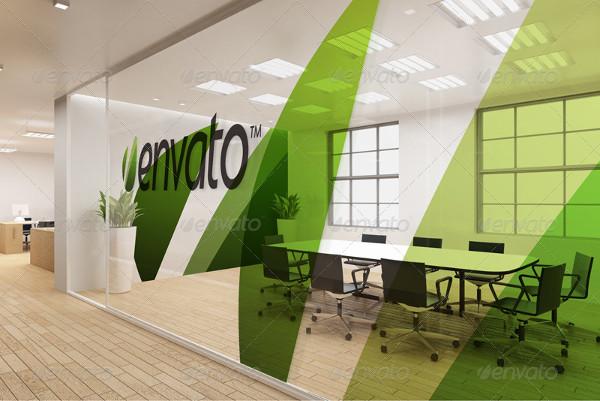 Branding Office Interior Mockups