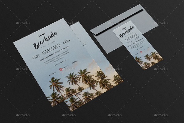 Opening Event Invitation Card