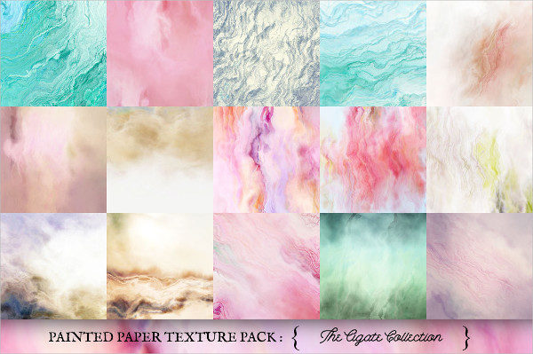 Painted Paper Texture Pack