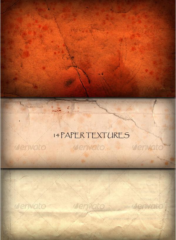 14 Paper Grunge Textures