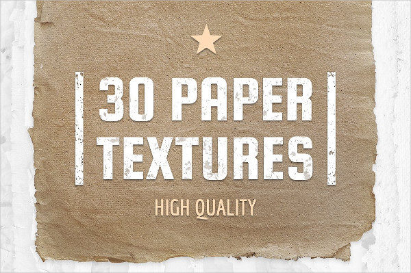 30 High Quality Paper Textures