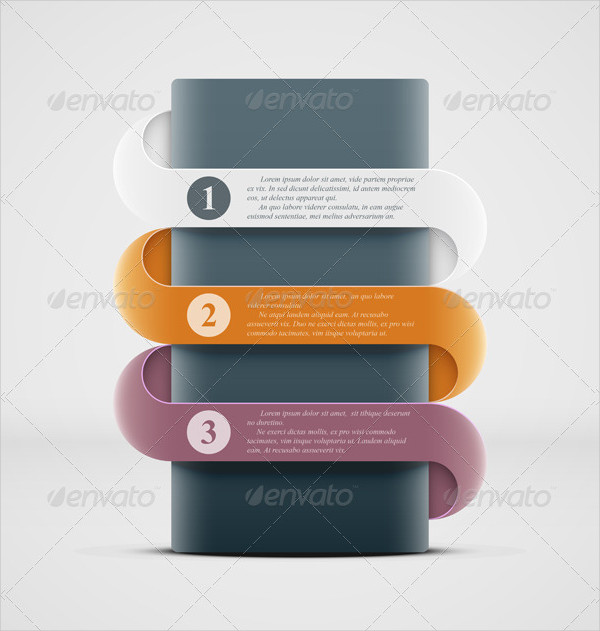 Abstract Infographics Banner Template
