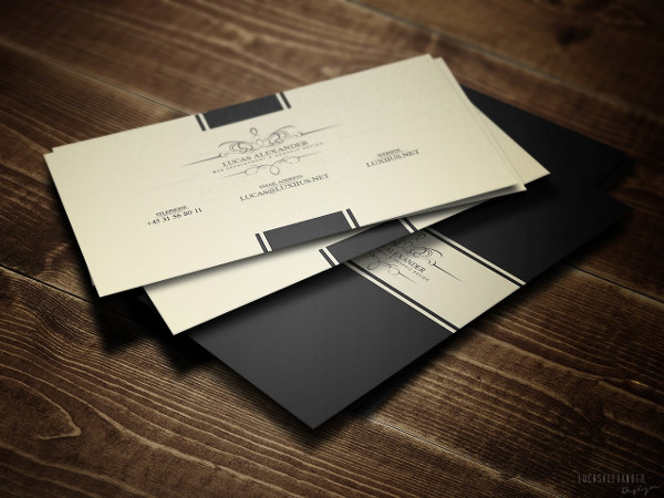 perfect classy business card - Classy Business Cards