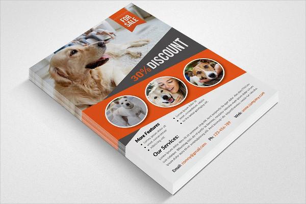 Pet Shop & Store Business Flyer