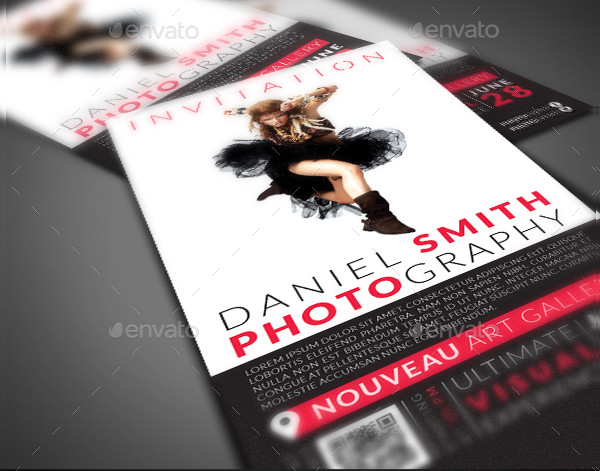 Photography Event Invitation Template