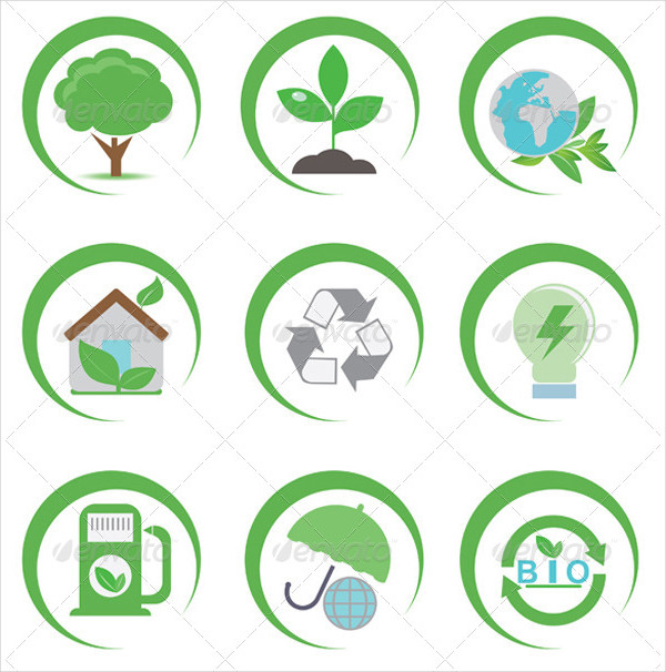 Best Eco Vector Icons Collection