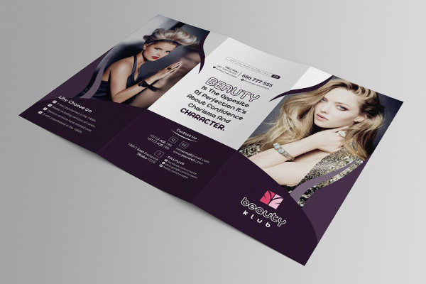 Popular Salon Brochure Template