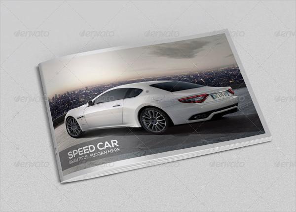 Car Company Brochure Template