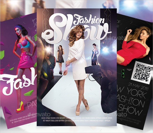 Print Ready Fashion Show Flyers Bundle