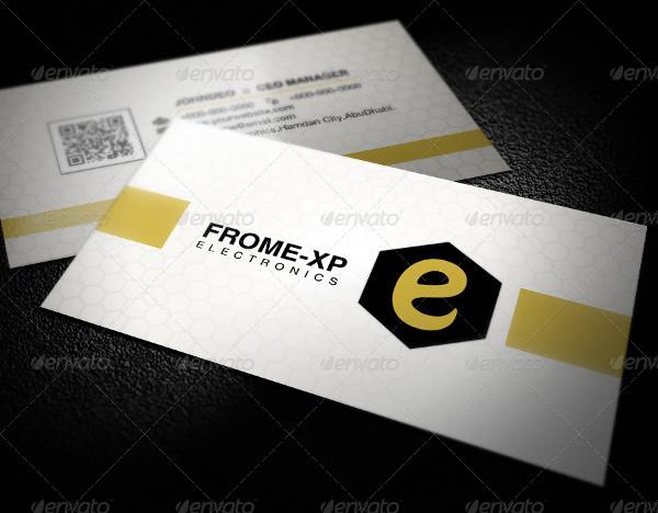 Printable Royal Business Cards