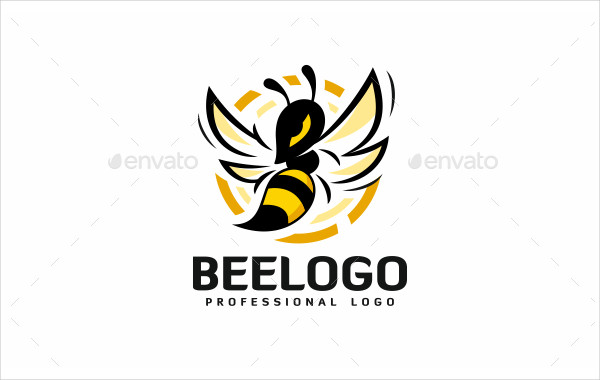 Professional Bee Logo Template
