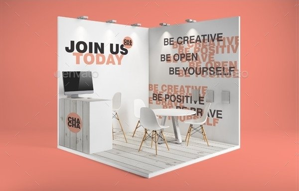 Professional Booth Mockups
