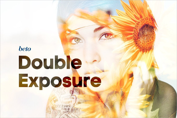 Professional Double Exposure Actions