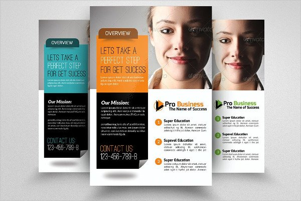 Professional Life Insurance Agency Flyer Template