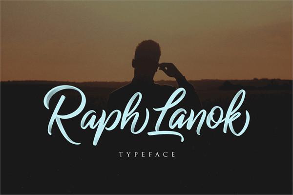 Raph Lanok Future font