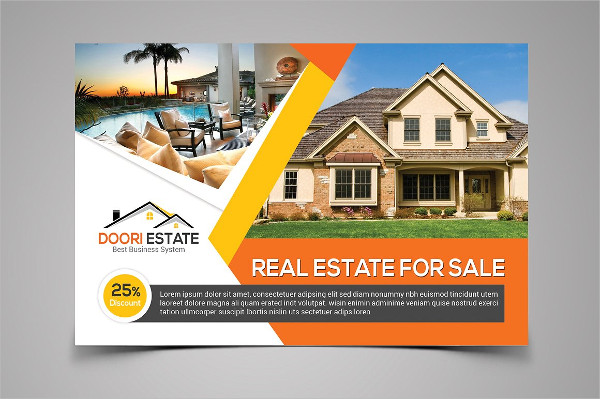 Real Estate Postcard Template 25 Psd Ai Eps Format Download
