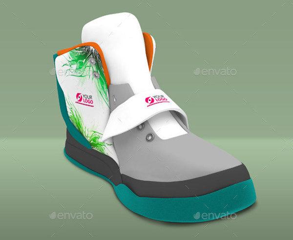 Realistic Shoes Mockup