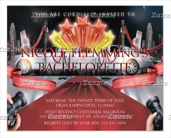 25 red carpet party flyer templates free premium download