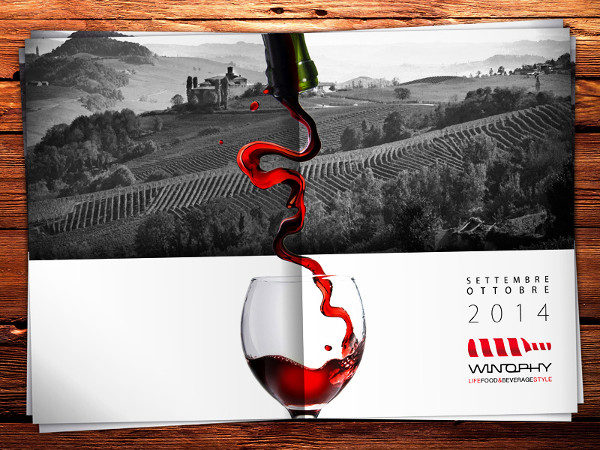 Red Wine Brochure Template