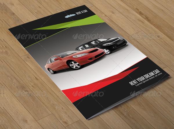 Rent a Car Brochure Template