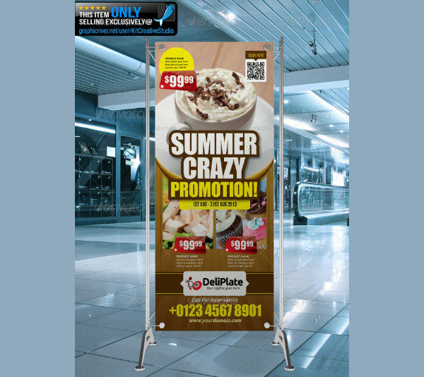 Perfect Restaurant Banner Template