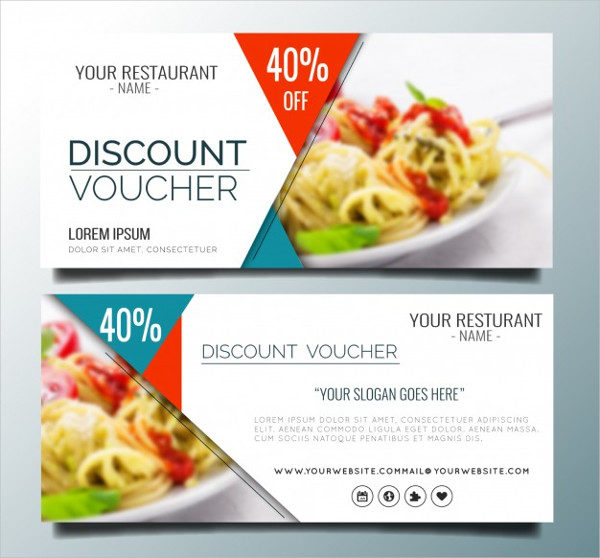 Free Vector Restaurant Discount Banners