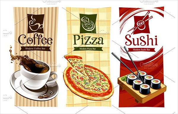 Vector Coffee Restaurant Banners