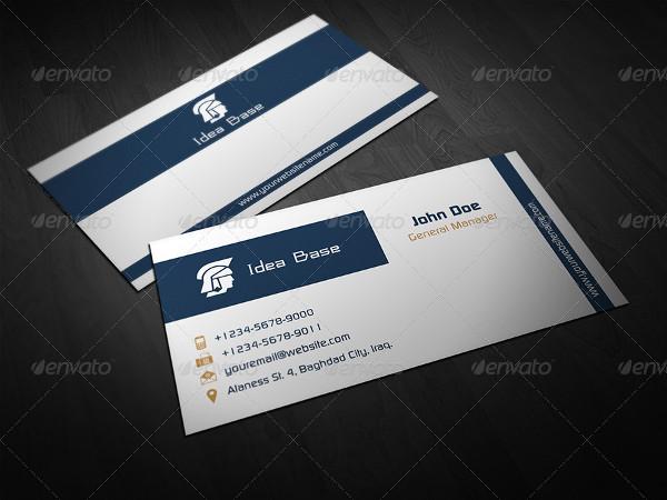 Retro Classical Business Card