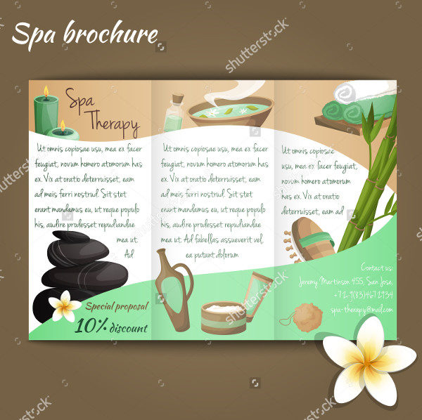 Salon Discount Brochure Template