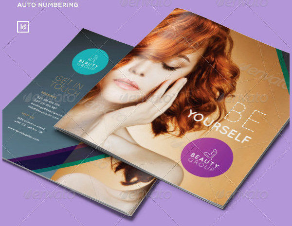 Salon Promotion Brochure Template