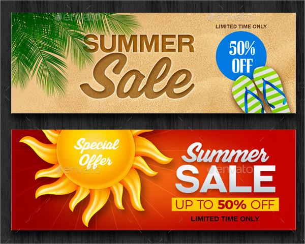 Best Summer Sale Banner Templates