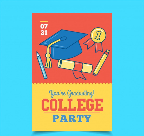 Party Brochure with University Elements