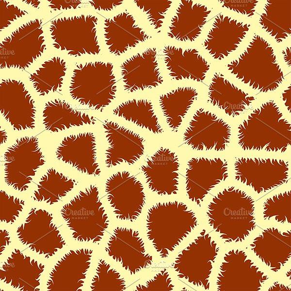 Seamless Animal Skin Pattern Vector