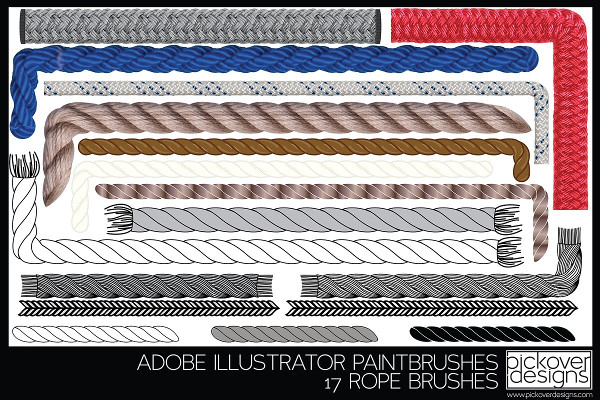 Seamless Rope Brush Collection
