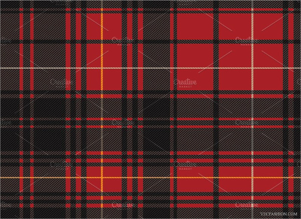 Seamless Scottish Tartan Pattern
