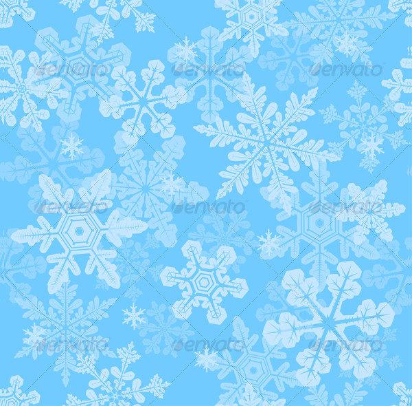 Seamless Snowflakes Textures