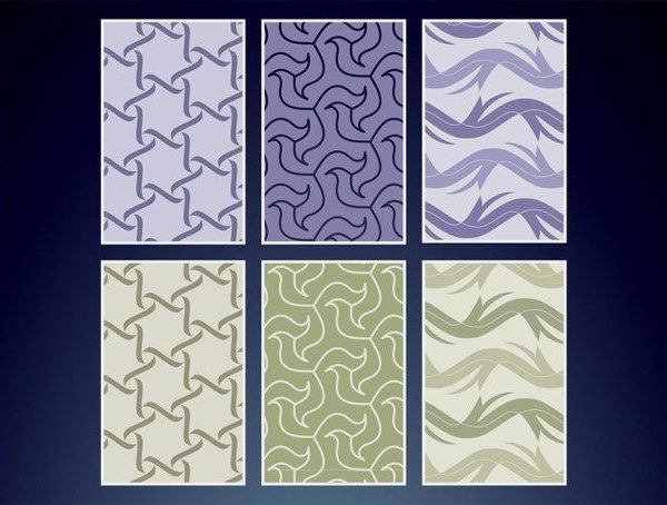 Free Seamless Textile Vector Patterns