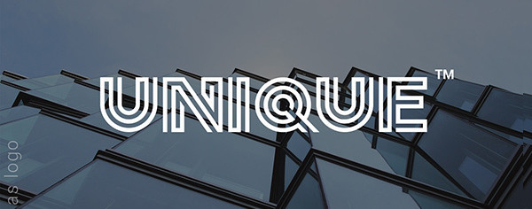 Sentagram Logo and Monogram Font