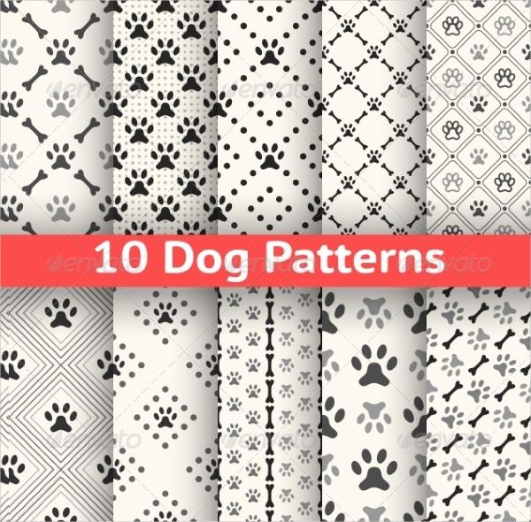 Set of Seamless Animal Pattern