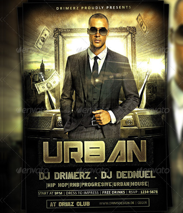 Stylish Urban Event Flyer Template