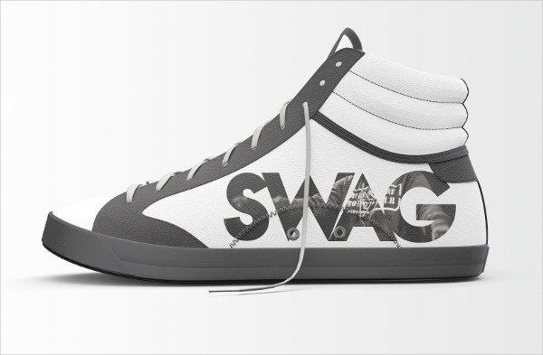 Shoes Branding Mockup