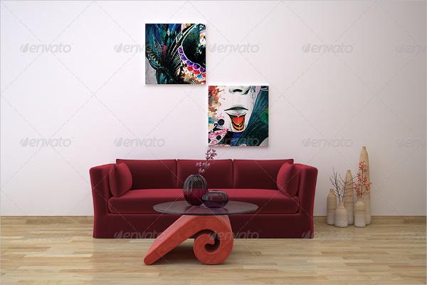 Showroom Interior Mockup