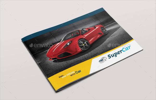 Super Car Brochure Template
