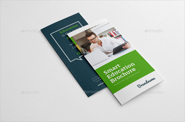 Smart University Trifold Brochure Template